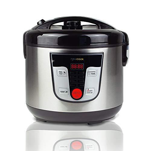 NEWCOOK Robot de Cocina Multifunción, Capacidad 5 Litros,...