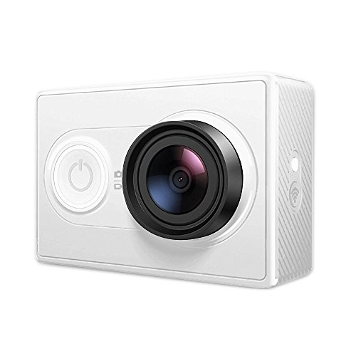 Xiaomi Xiaoyi アクションスポーツカメラ 軽量 16MP H.264 155° 超広角 FHD 1080P WIFI 4 Photo Mode for Android 4.1 IOS 7.0 Above Smartphone Basic Edition【並行輸入】