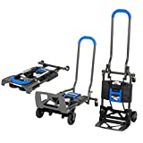 COSCO Shifter 135kg Multi Function Folding Handcart and Hand Truck (Blue)