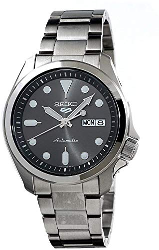 Seiko Herren Analog Automatik Uhr mit Edelstahl Armband SRPE51K1