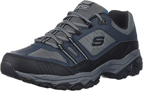 Skechers Men's Burn Memory Fit Lace-Up Sneaker