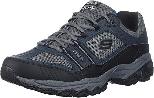 Skechers Men's Burn Memory Fit Lace-Up Sneaker