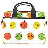 Cute Lemon - Funda para portátil de 13,4 a 14 pulgadas, multifuncional, maletín portátil, correa ajustable para el hombro