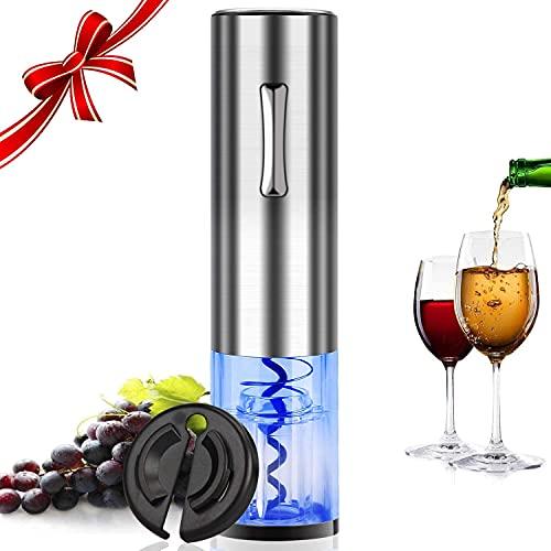 Korkenzieher Elektrisch Weinflaschenöffner Korkenzieher Wein Weinöffner Elektrisch Weinöffner Set Automatischer Korkenzieher für Outdoor, Küche, Hof