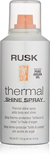 Rusk Thermal Shine Spray, Pure Argan Oil, 4.4 oz