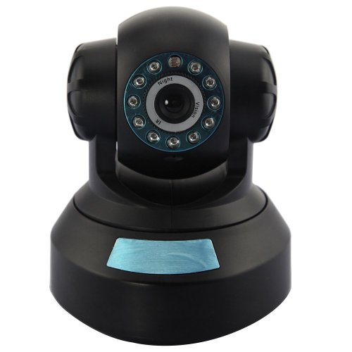 Cámara IP Neo Coolcam Pan / Tilt, inalámbrica, videovigilancia robótica por Internet con DDNS gratuito, negro