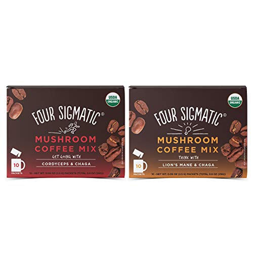 Four Sigmatic Mushroom Coffee Mix Pack of 2