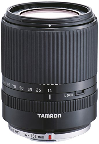 TAMRON 高倍率ズームレンズ 14-150mm F3.5-5.8 DiIII マイクロフォーサーズ用 ミラーレスカメラ マイクロフォーサーズ専用 ブラック C001F-BLACK