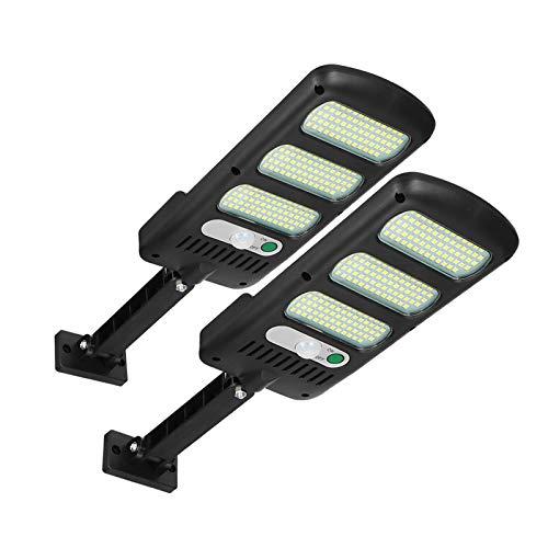 Luci solari per esterni, Freeas 213 LED Lampioni stradali ad energia solare Lampada da parete con sensore di movimento Luce di impermeabile