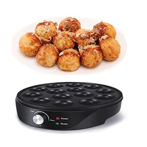 Takoyaki Maker, Haushalts-Antihaft-Takoyaki-Maschine einfach und einfach zu bedienen der elektrischen Maschine von Home,Octopus Bällchen, 220V Wechselstrom, 50 Hz, 1200W