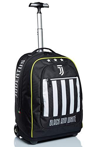 Big Trolley Juventus, Best Match, Bianco e Nero, Scuola & Viaggio, con Orologio abbinato.