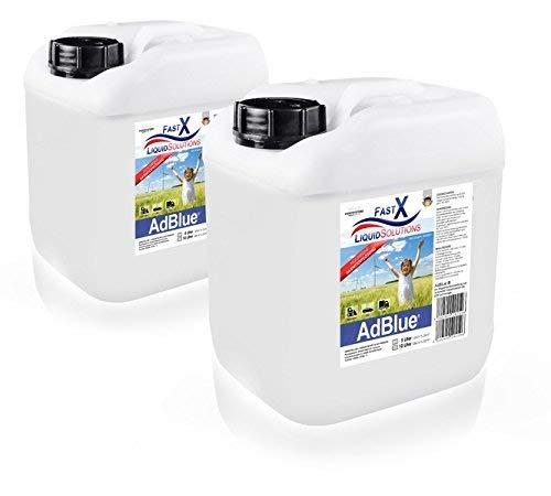 AdBlue 2X 10 Liter AD Blue Kanister mit Füllschlauch