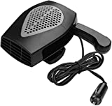 Windshield Car Heater,Auto Heater Fan Portable Car Defroster Defogger 12V 150W Auto Ceramic Heater Fan 2 in 1 Heating Cooling Function Plug in Cig Lighter