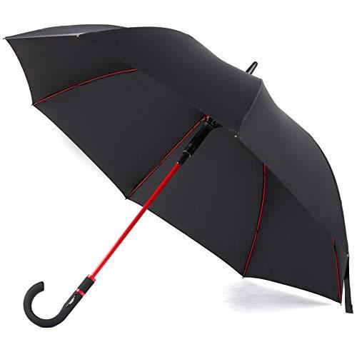 Paraguas a prueba de viento tamaño de viaje paraguas de llu