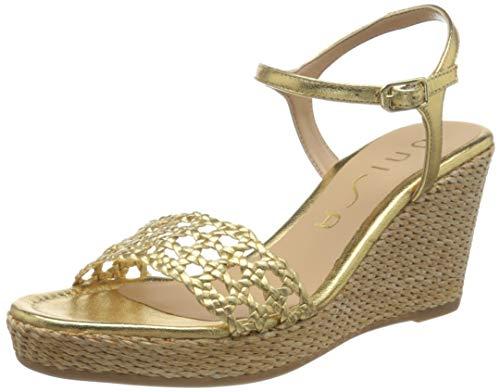 Unisa Lobi_lmt, Alpargata Mujer, Dorado (Gold Gold), 38 EU