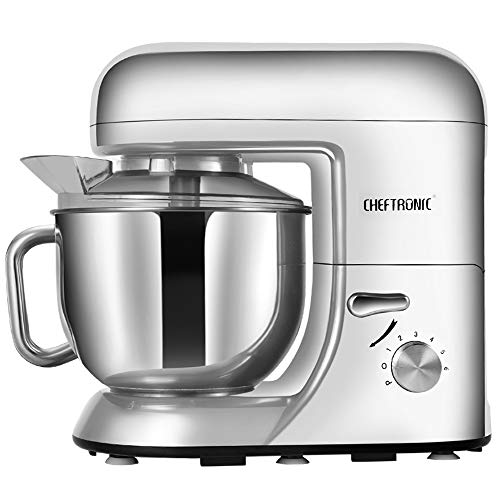 CHEFTRONIC SM985-Silver Standing Mixer, One Size, Silver