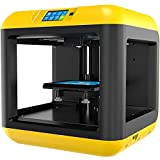 Flashforge 3D Printer Finder Lite FDM Machine, Semi-Enclosed, Removable Platform, Touch Screen, Brightly Colored Design for Kids Beginner and School Education. Print Size140 x 140 x 140 mm.
