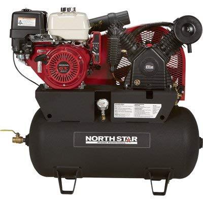 NorthStar Portable Gas Powered Air Compressor -...