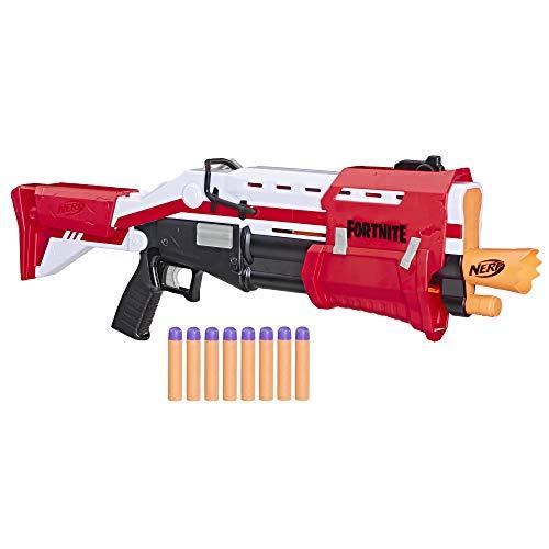 Hasbro Nerf Fortnite TS, Mega Blaster con Dardi, Rosso