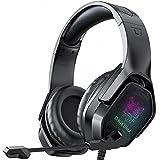 SUNOVO Auriculares Gaming para PS4, cascos playstation 4 con microfono 7.1 Stereo para PC, Xbox One, Mac, laptop