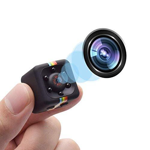 Parkourer Videocamera Spia Nascosta Mini Spy Cam 1080 HD Dotata Di Rilevatore Di Movimento E...