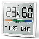 Noklead Thermomètre/hygromètre numérique portable avec haute précision,...
