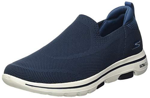 Skechers Go Walk 5 Ritical, Zapatillas Hombre, Azul (Nvbl), 40 EU
