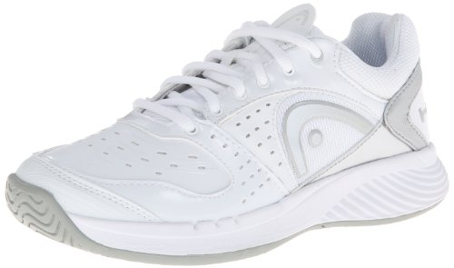 Head Women's Sprint Team Tennis Shoe,White/Gray/Silver/White,8.5 M US