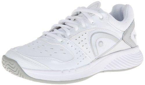 Head Women's Sprint Team Tennis Shoe,White/Gray/Silver/White,8.5 M US