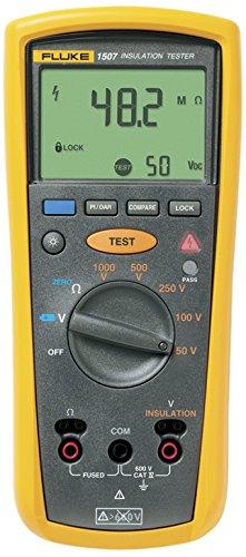 Fluke 1507 Insulation Tester, 0.01 MegOhms To 10...