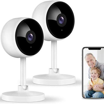 Home Security Camera, Littlelf 1080P Indoor WiFi Surveillance...