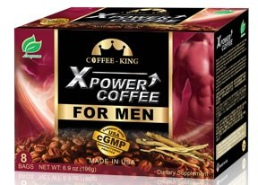 X-Power Coffee for Men Instant Tongkat Ali Ginseng Coffee...