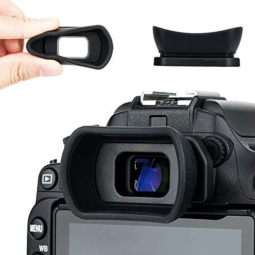 Kiwifotos Oculare oculare per Nikon D7500 D3500 D750 D7200 D7100 D7000 D5200 D5100 D3400 D3300 D3200 D3100 D610 D600 sostituisce Nikon DK-20 DK-21 DK-23 DK-24 DK-25 DK-28