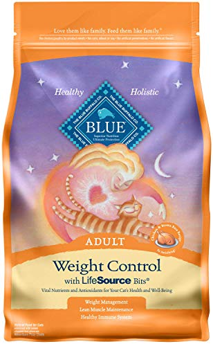 Blue Buffalo Weight Control Natural Adult Dry Cat Food Chicken & Brown Rice 7-lb
