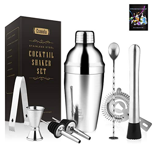 Cocktail Shaker Set 8 Piece