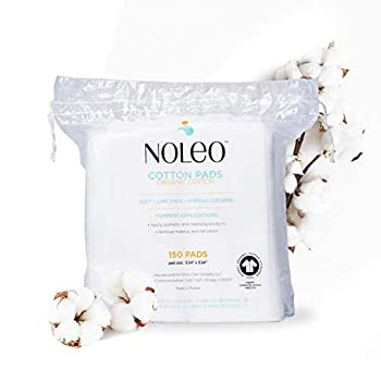 LINT FREE: No more cotton lint getting in your way PURE CERTIFIED ORGANIC COTTON: Chlorine-Free HYPOALLERGENIC: Free of pesticide and insecticide residue SOFT: Ideal for the most sensitive skin EXTRA LARGE: Facial cleansing pads great for makeup remo...