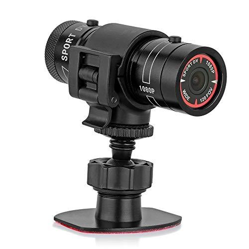 Mengshen Full HD 1080P mini videocamera sportiva DVR per il casco del motociclista della bici della telecamera DV per perfezionamento per sport all'aperto con scheda 32GB TF MS-F9E