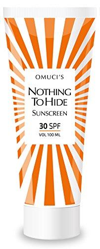 Omuci | Nothing to Hide | Veganistisch | Met natuurlijke ingrediënten | 30 SPF | 100 ml