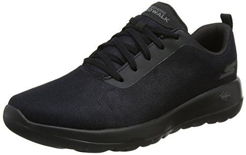 Skechers Go Walk Joy, Zapatillas Mujer, Negro (Black), 41 EU