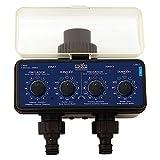 Aqua Control C4011 - Programador de Riego para Jardn - Para todo tipo de Grifos - Con 2 salidas independientes
