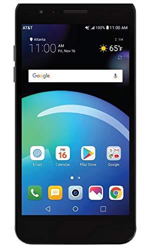 LG-Phoenix-4-ATT-Prepaid-Smartphone-with-16GB-4G-LTE-Android-71-OS-8MP-5MP-Cameras-Black