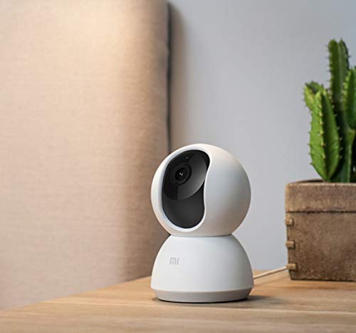 41-rqaLWU6L [Bon plan Arlo !  Xiaomi -Caméra de Sécurité Domestique 360° 1080P- Blanc