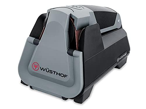 Wüsthof Easy Edge (3069730301) - Affilacoltelli elettrico per tutti i coltelli, con sistema di affilatura intelligente