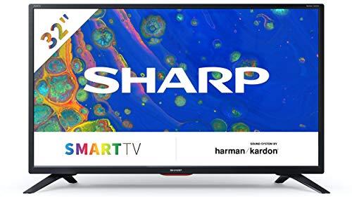 [Exclusif à Amazon] 32BC6E - Téléviseur SHARP 32'' HD Ready Smart