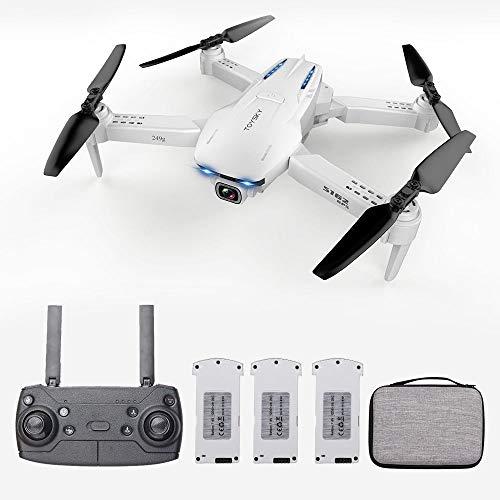 Goolsky Drone GoolRC S162 RC con videocamera GPS grandangolare Regolabile 4K 5G WiFi Gesto Foto Video MV FPV RC Quadcopter Seguimi Drone per Adulti