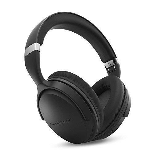 Energy Headphones BT Travel 7 ANC (Active Noise Cancelling, Bluetooth, Control Talk, Foldable, Extended Battery) - Black