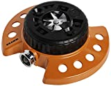 Dramm Available 15022 ColorStorm 9-Pattern Premium Turret Sprinkler with Heavy-D, Orange
