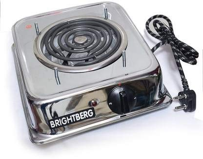 BrightBerg Electric hot plate is a Safe and Smart Cooking Alternative for using in Hostel, Cottages, Offices and Camping. G Coil Induction Cook-top /induction cooker With 1 Year Warranty Cook your favorite dishes with ease using the induction cooktop...