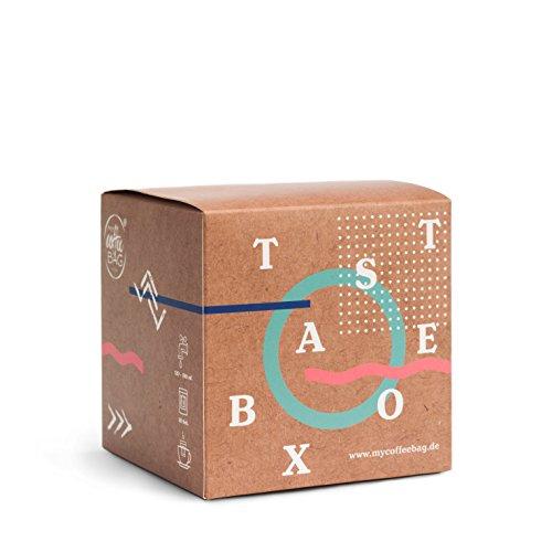 Taste-Box mycoffeebag mit allen Sorten | Premium Filter Kaffee der schmeckt | Geschenke Box mit 13...
