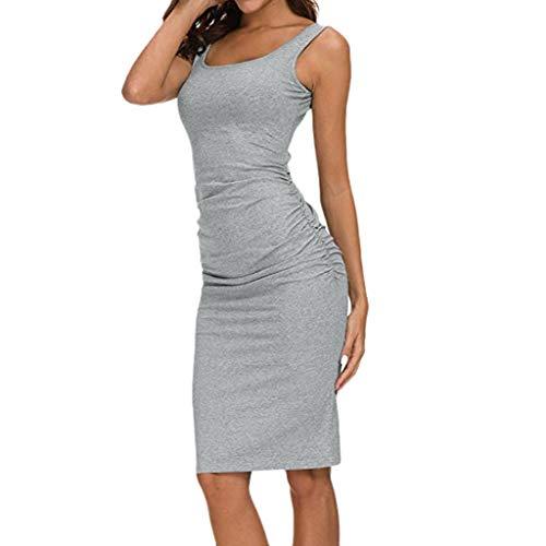 NEEKY Vestidos de Fiesta para Mujer Elegantes - Vestido sól